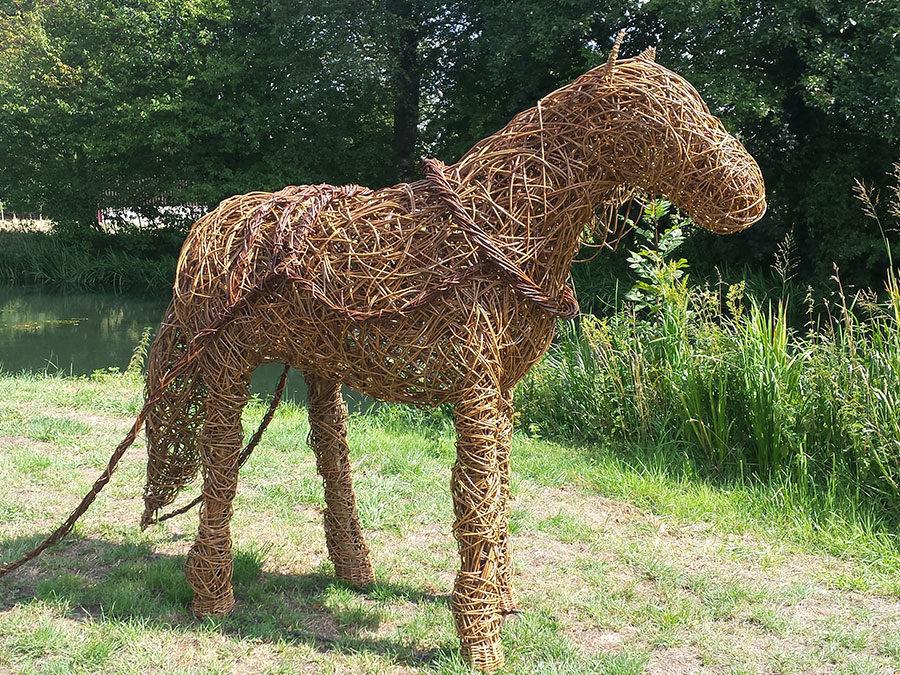 Pocklington Canal Horse